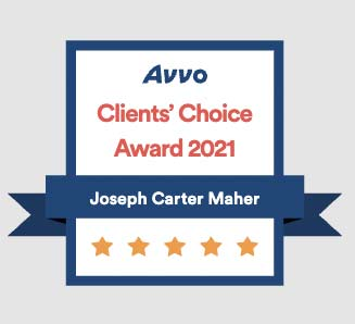 Clients Choice Badge by Avvo Maher and Maher Law in Colorado Springs