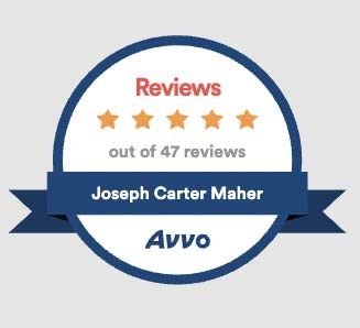 Avvo badge Maher and Maher Law in Colorado Springs