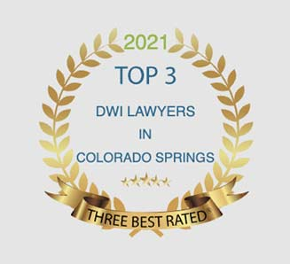 Top 3 Lawyers badge Maher and Maher Law in Colorado Springs