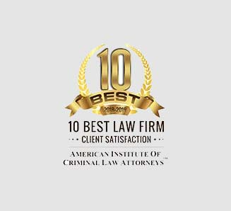 Top 10 best law firms badge Maher and Maher Law in Colorado Springs